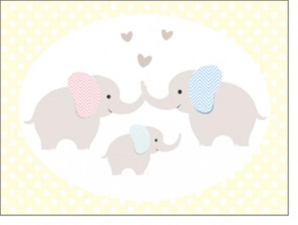Minik. Elefantenfamilie