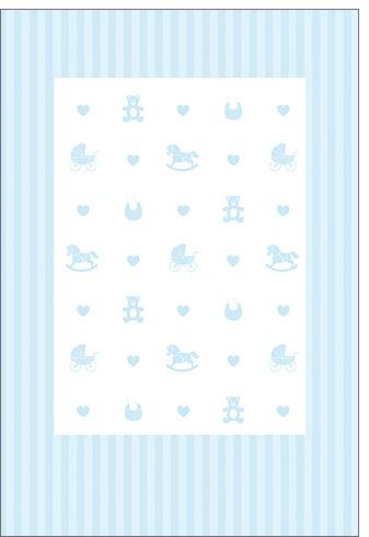 Umschlagk Blue Babytoys