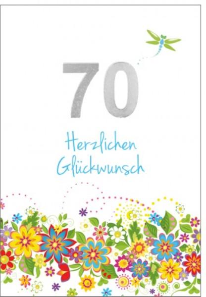 Umschlagk. 70 Herzlichen Glückwunsch