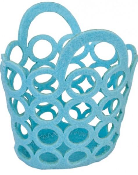 Circle Bags blau 12cm