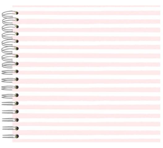Fotoalbum 24x24 Pink Stripes