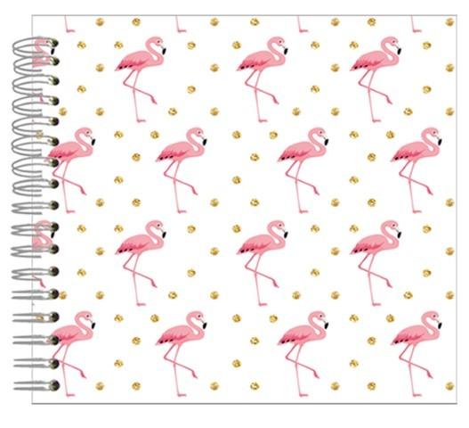 Fotoalbum 24x24 Sparkling Flamingo