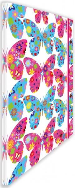 Eckspannmappe Papillon