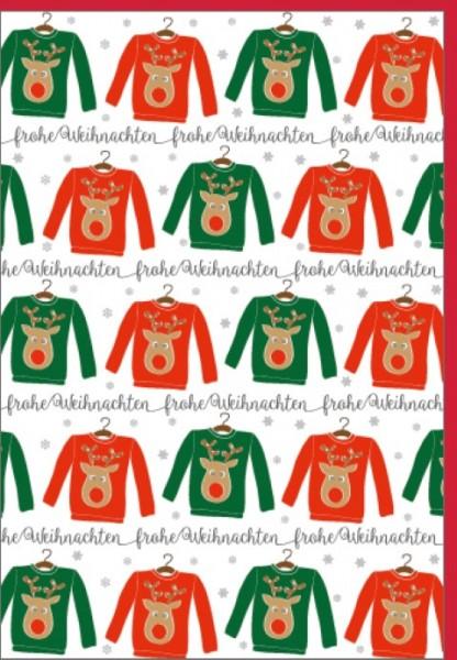 Umschlagk. Weihnachts-Pullover