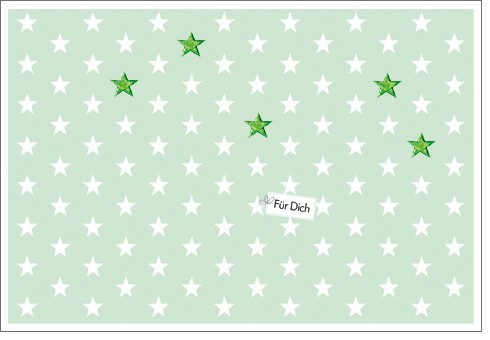 Umschlagk. Mint Stars