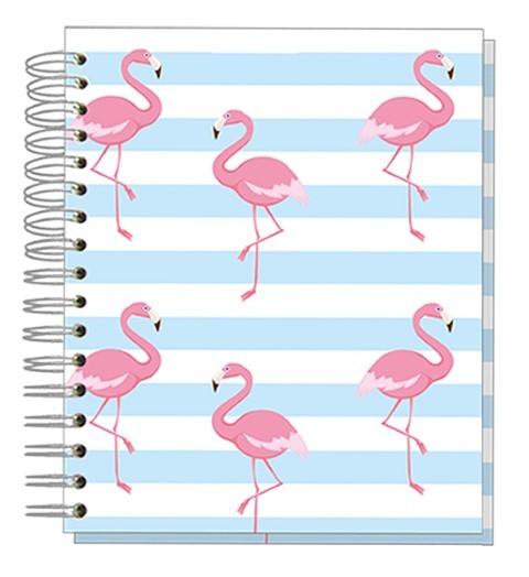 Buch 12x15 Flamingo