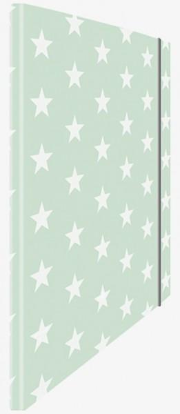 Eckspannmappe Mint Stars