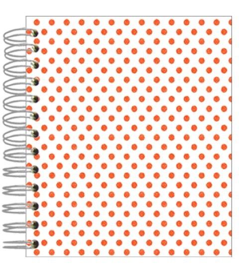Buch 12x15 Neon little Shabby Dots