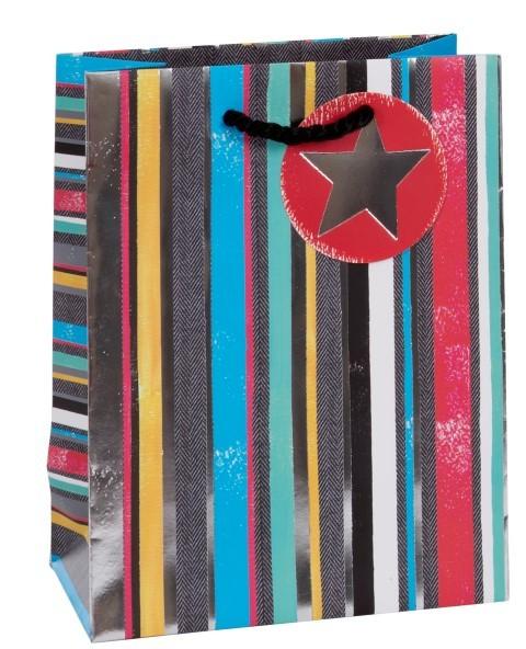 Streifen/Sterne Bag medium