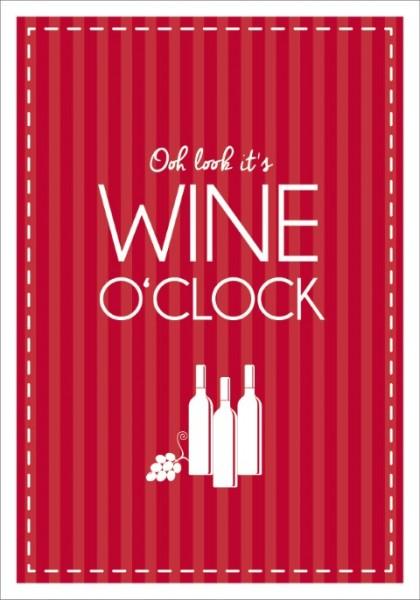 Postk. LQ Wine o clock