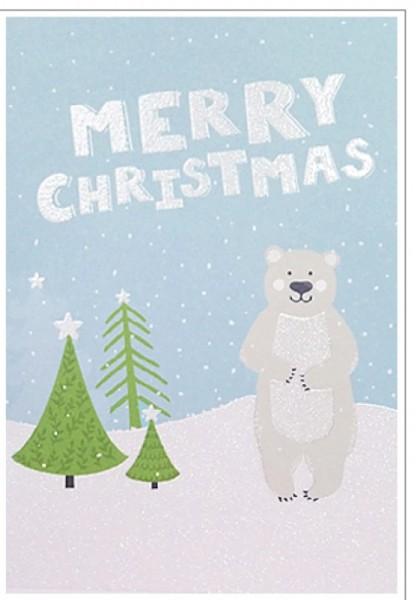 Umschlagk. Weihnachtsbär