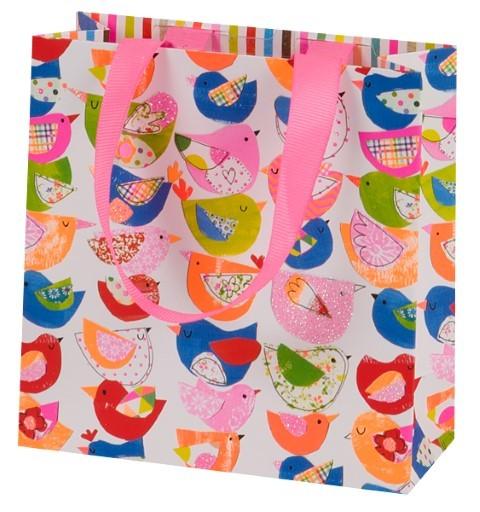 Bunte Vögel Bag mini