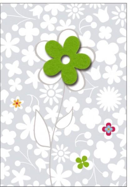 Umschlagk. Filzblüte