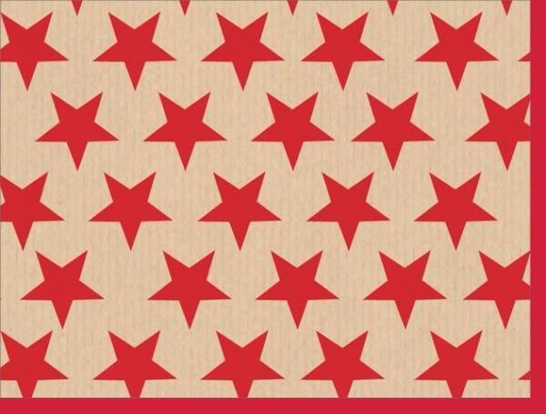 Minik. Sterne auf Packpapier
