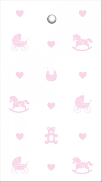 Tags Baby Icons Rosa