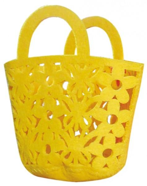 Flower Bags gelb 12cm