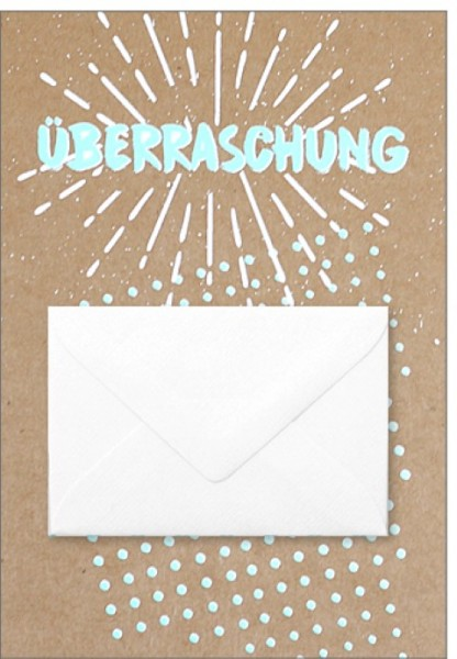 Umschlagk. pp Überraschung Umschlag
