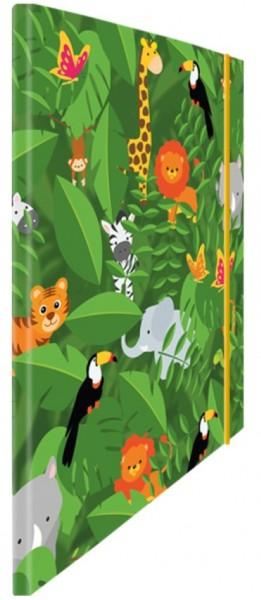 Eckspannmappe Safari