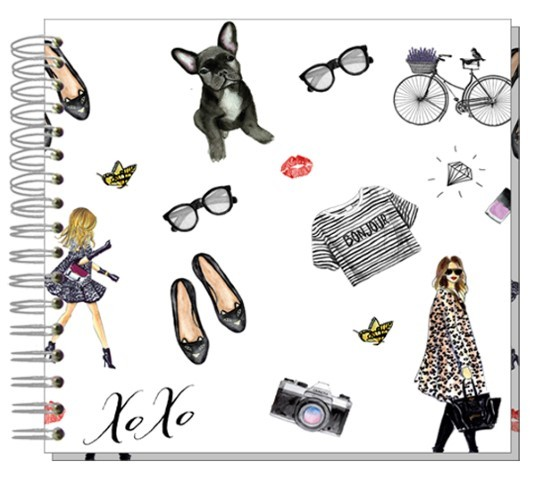 Fotoalbum 24x24 Très Chic
