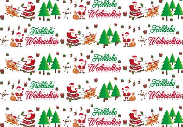 Fröhliche Weihnachten 50x70