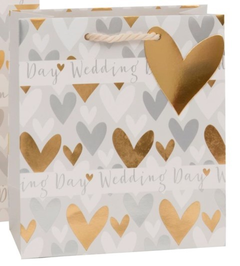 Wedding Hearts Bag medium