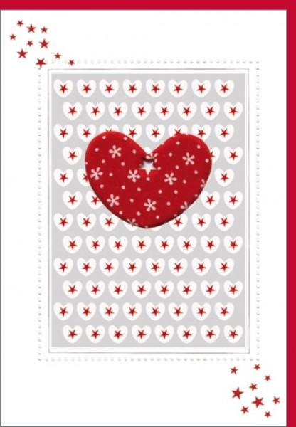 Umschlagk. Rotes Herz