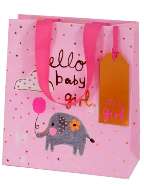 Hello Baby Girl Bag medium