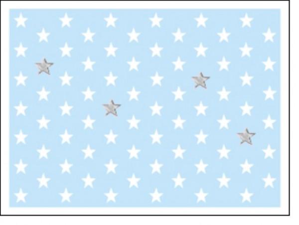 Minik. Lightblue Stars