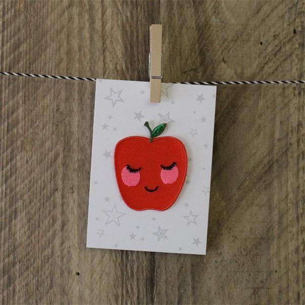 Aufnäher Apfel