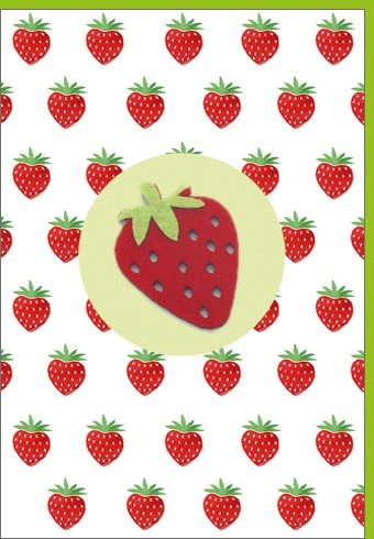 Umschlagk. Erdbeere