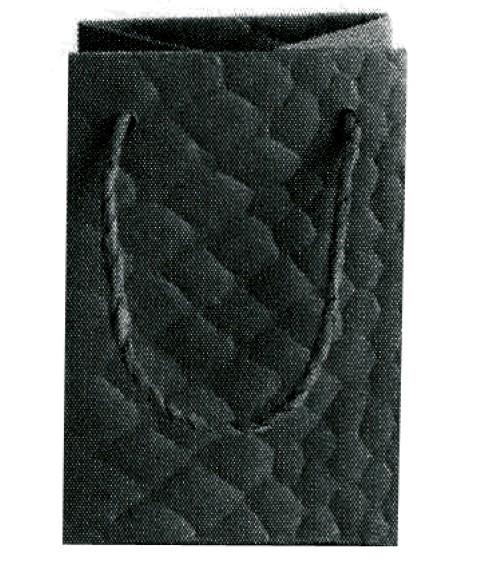 Snake Bag schwarz 11x8x8