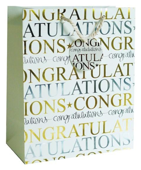 Congratulations Bag large