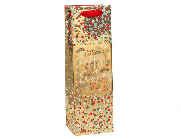 Weihnachtsglück Bag Flasche