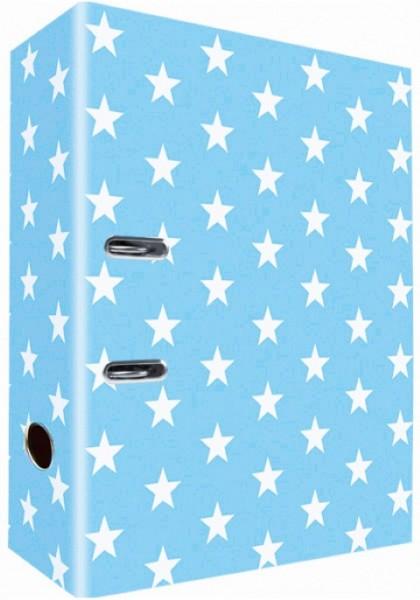 Ringordner A4 Lightblue Stars