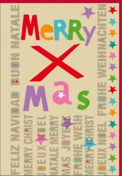 Umschlagk. Merry X Mas