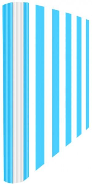 Ringmappe A4 Streifen Hellblau