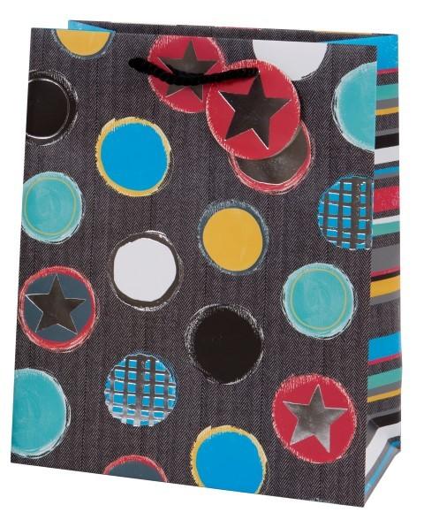 Sterne/Streifen Bag large