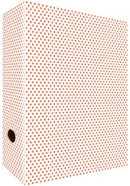 Ringordner A4 Neon Little Shabby Dots