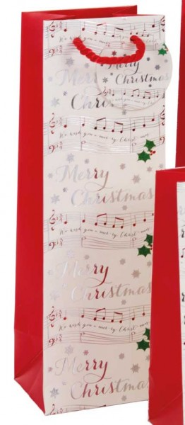 Weihnachtslied Bag Flasche