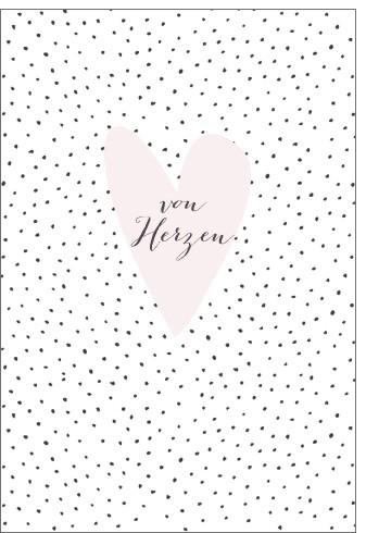 Umschlagk. pc von Herzen Herz
