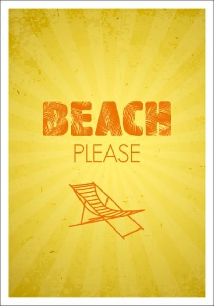 Postk. LQ Beach please