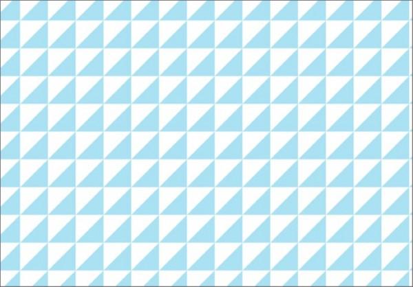 Dreieck hellblau 50x70