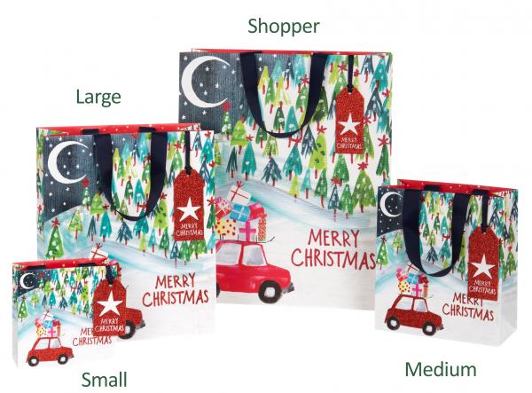 Driving Home for Christmas Bag medium