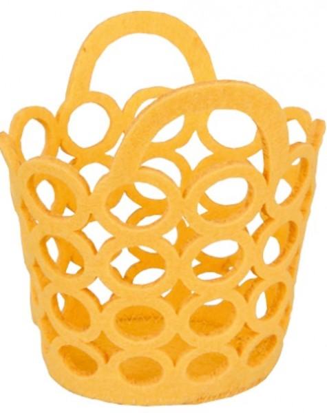 Circle Bags gelb 12cm