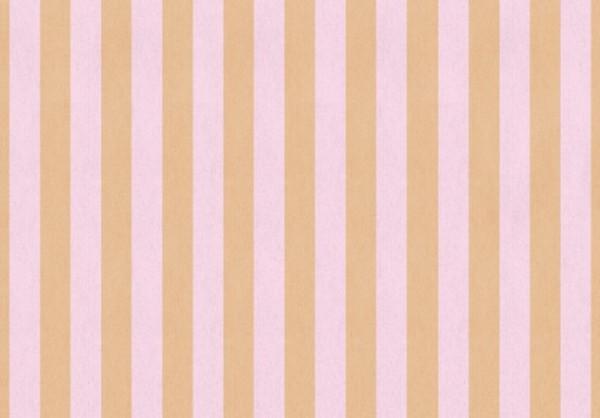 Shabby Streifen rosa 50x70