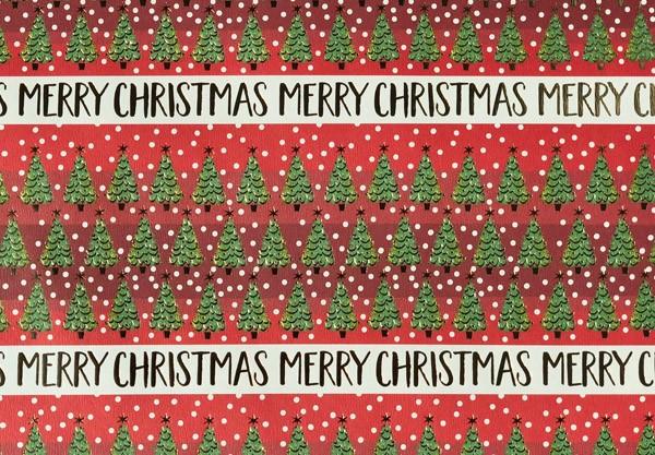 Geschenkpapier Kleine Weihnachtsbäume