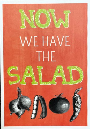 Postk. Salad