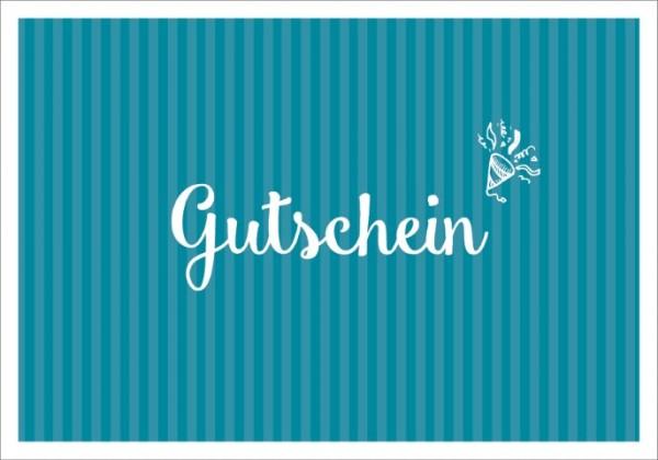 Postk. LQ Gutschein