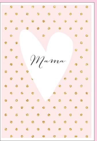 Umschlagk. pc Mama im Herz Twinkle