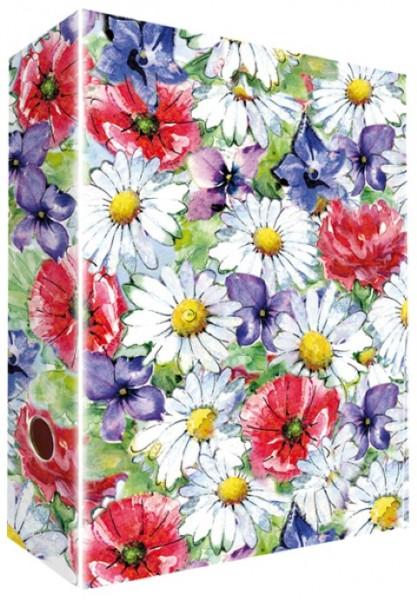 Ringordner A4 Fleurs